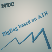 ZigZag based on ATR and Fibo retracement MQL4
