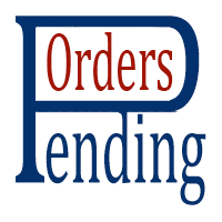 Pending order placer