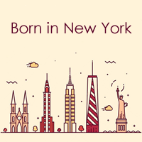 Born in New York