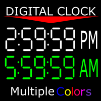 Digital Clock Custom MT4