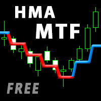 Double HMA MTF for MT4 Light