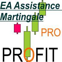 EA assistance Martingale averaging manual