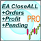 EA Close all Orders Profit scripts closeall order