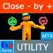 Exp4  Close Minus by Plus