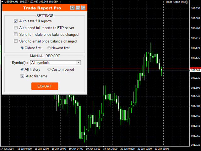 Trade Report Pro