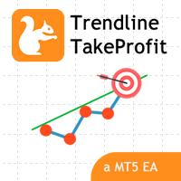 Trendline TakeProfit EA MT5