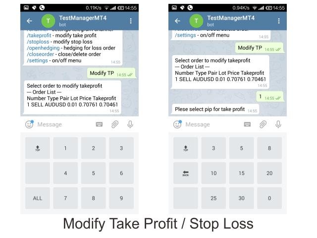 Compre Útilidad comercial 'Telegram MT4 Order Channel