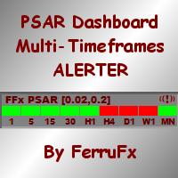 FFx ParabolicSAR Dashboard MTF ALERTER