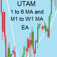 A 1 to 6 MA trend and M5 to W1 MA trend EA