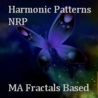 NRP Harmonic Patterns MA Fractals Based MT5