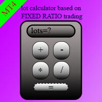 Fixed ratio lot calculator MT4