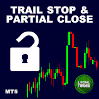 LT Trail Stop with Partial Close