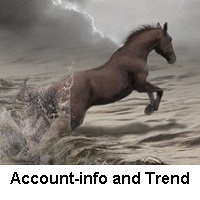Account info and Trend
