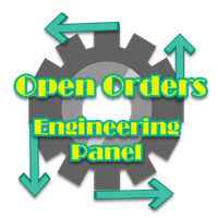 Open Orders Engineering Panel