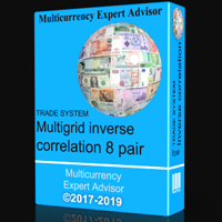 TS Multigrid inverse correlation 8 pair