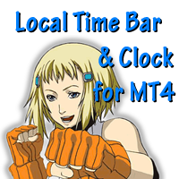 Local Time Bar and Clock for MT4