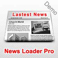 News Loader Pro Demo
