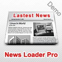 News Loader Pro Demo