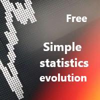 Simple statistics evolution free