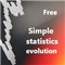 Simple statistics evolution free