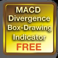 MACD Divergence Box Indicator FREE