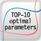TOP 10 optimal parameters