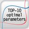 TOP 10 optimal parameters