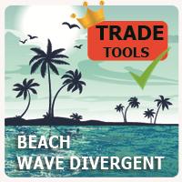 Beach Wave Divergent
