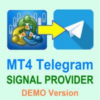 MT4 Telegram Signal Provider DEMO