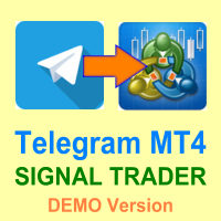 Telegram MT4 Signal Trader DEMO