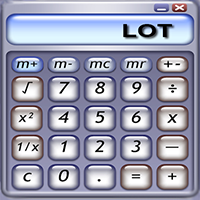 Simple Position size Lot calculator panel