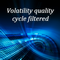 Volatility quality cycle filtered