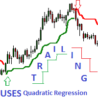 Trailing Uses Quadratic Regression