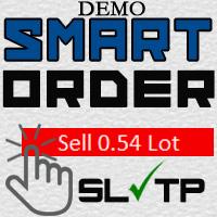 Smart Order lot calculator Demo