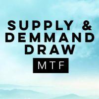 Supply and Demand Draw MTF