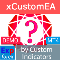 Exp4 The xCustomEA for MT4 DEMO