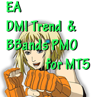 DMI Trend and BBands PMO