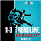 One to Three Trendline Breakout Free