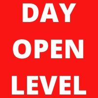 Day Open Level indicator