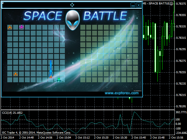 EXPGAME SPACE BATTLE