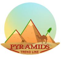 Pyramids trend line