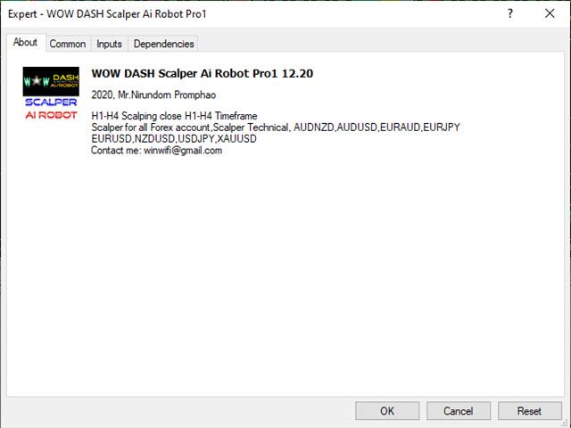 WOW Dash Scalper Ai Robot Pro1