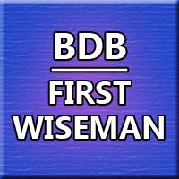 BDB First Wiseman