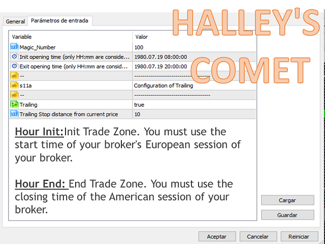 Halley s comet MT5