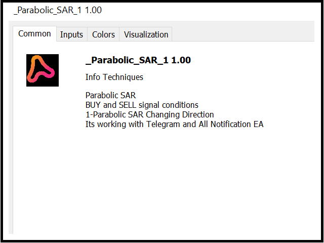 Parabolic SAR with Alert