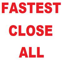 Waddah Attar Fastest Close All