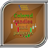 Colored candles and patterns