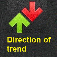 Direction of trend