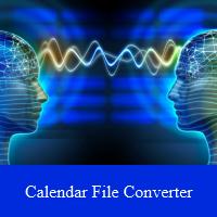 Calendar File Converter