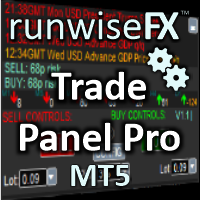 Trade Panel Pro by RunwiseFX MT5